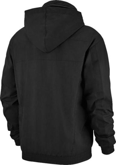 Jordan Black Mj Wings Anorak Jacket