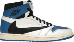 Jordan 1 High x Fragment x Travis Scott 'Sail Blue'