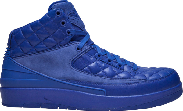 Jordan X Just Don Blue Quilted Sneakers