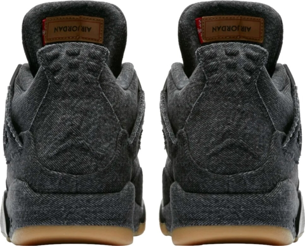 Jordan X Levi Black Denim Sneakers