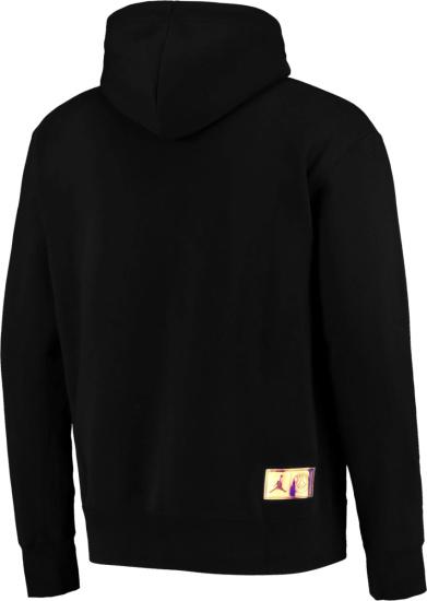 Jordan X Psg Black Zip Logo Hoodie