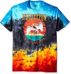 Led Zeppelin Tie-Dye 'Icarus' T-Shirt