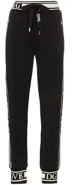 Juicewrld Black Dolce And Gabbana Sweatpants