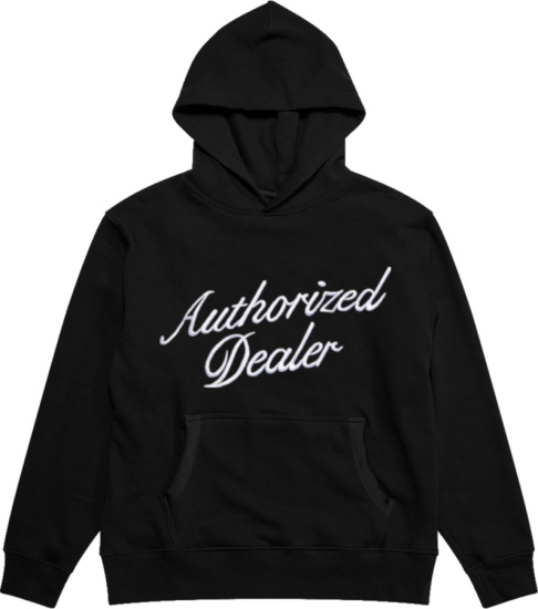 Just Don Black Authorized Dealer Hoodie