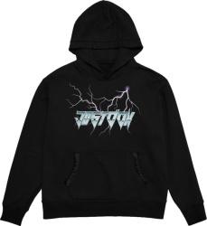 Just Don Black Lightning Logo Hoodie