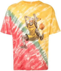 Just Dont Tie Dye Shirt With Basketball Player Teamx Print