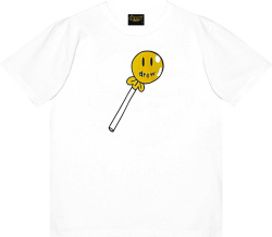 Justin Bieber House Of Drew White Lollipop T Shirt