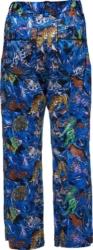 Kadill Blue Printed Pants