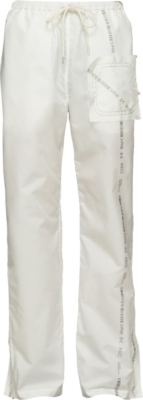 Kanghyuk White Readymade Airbag Front Trousers