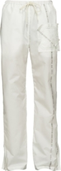 Kanghyuk White Readymade Airbag Front Trousers