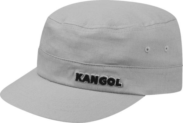 Kangol Grey Ribstop Canvas Army Hat