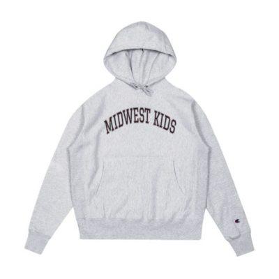 Kanye West Wearing A Midwest Kids Hoodie