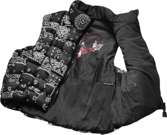 Kapital Bandana Transfer Nylon Keel Weaving Vest