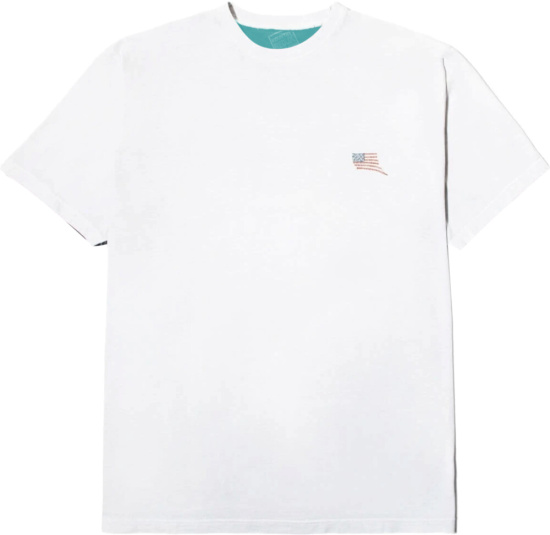 Kapital Koungry Two Tone American Flag T Shirt