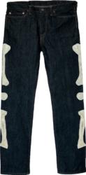 Kapital Kountry Skeleton Blue Jeans