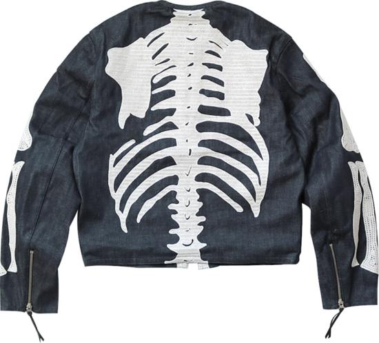 Kapital Skeleton Print Jacket