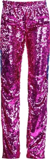 Kappa X Faith Connextion Purple Sequin Pants