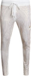Kash Gold Sequin Stripe Track Pants