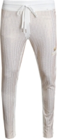 Gold Sequin Pinstripe Track Pants