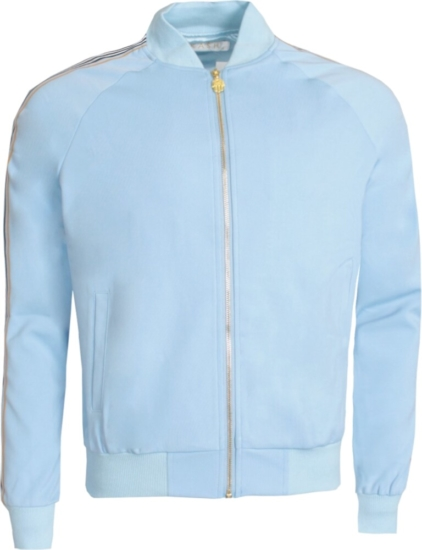 Kash Light Blue Track Jacket