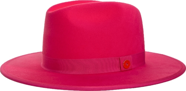 Keith And James Pink Queen Fedora