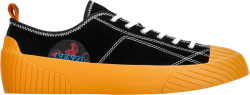 Kenzo Black Orange Volkano Sneakers