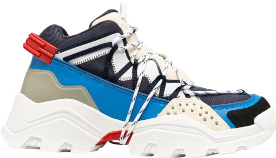 Kenzo Navy Blue Inka Sneakers