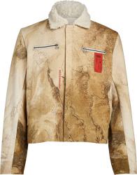 Kids Of The Broken Future Yellowstone Military Jacket
