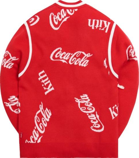 Kith X Coca Cola Red Cardigan