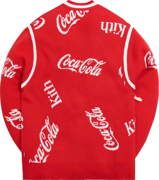 Kith X Coca Cola Red Cardigan