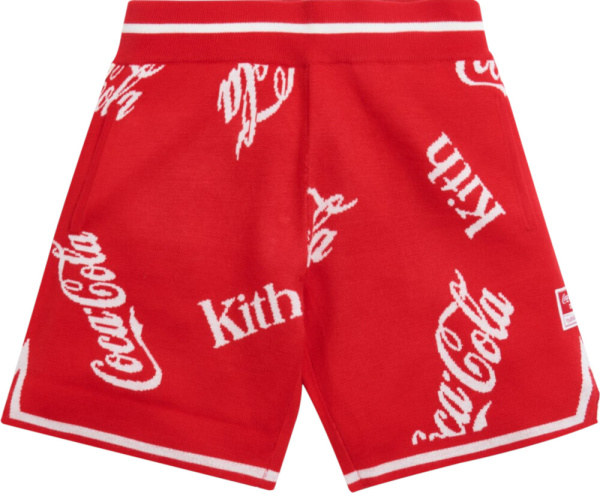 Kith X Coca Cola Red Shorts