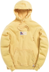Kith X Russell Yellow Hoodie