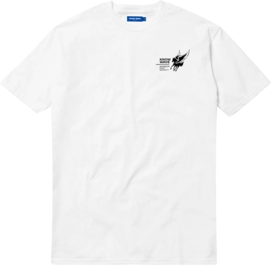 Know Wave White 'kaufman' T Shirt