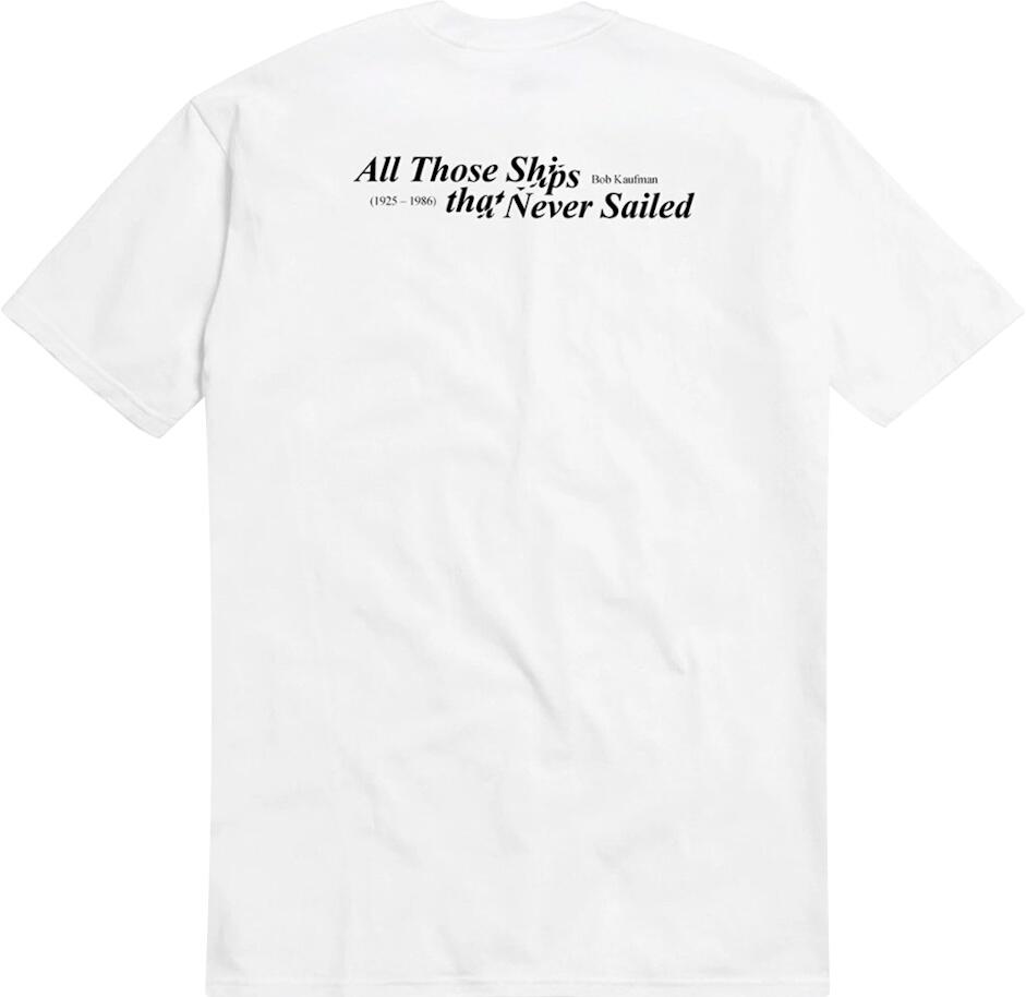 White 'Kaufman' T-Shirt
