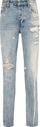 Ksubi Chitch Light Blue Bleached Jeans