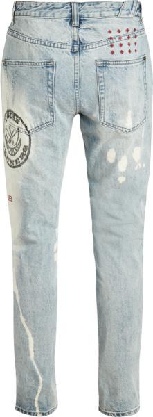 Ksubi Light Blue Chitch Oktane Jeans