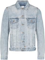 Ksubi Washed Blue Denim Jacket