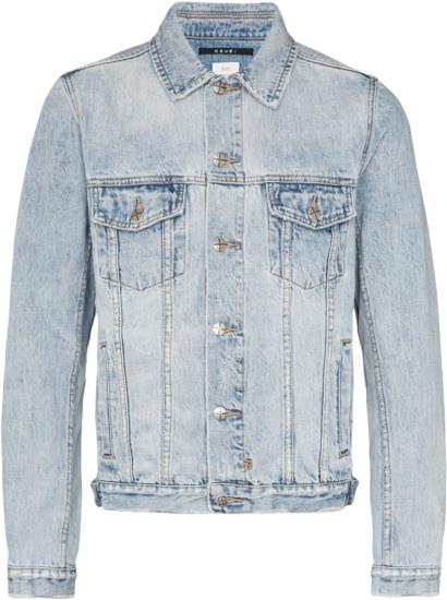 Ksubi Washed Blue Denim Jacket