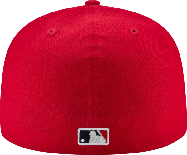 La Angels Red Fitted Hat