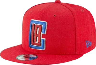 La Clippers Red New Era 9fifty