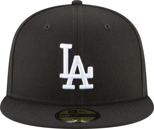 La Dodgers Black 59fifty Fitted Hat