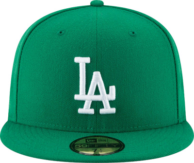 La Dodgers Kelly Green Fitted 59fifty Hat