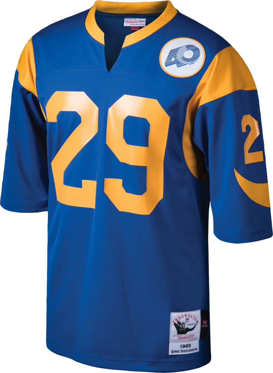 Mitchell & Ness L.A. Rams 40th Anniversary #29 Eric Dickerson ...