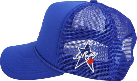 La Ropa Blue La Dodgers Trucker Hat