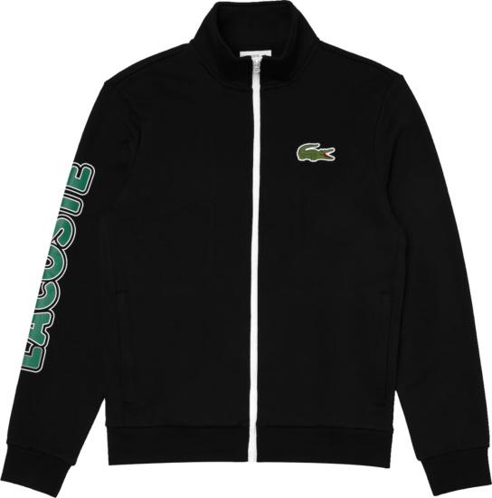 Lacoste Sport Black Track Jacket