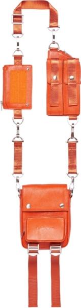 Landlord New York Orange Shoulder Strap Bag