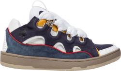 Lanvin Purple Curb Sneakers