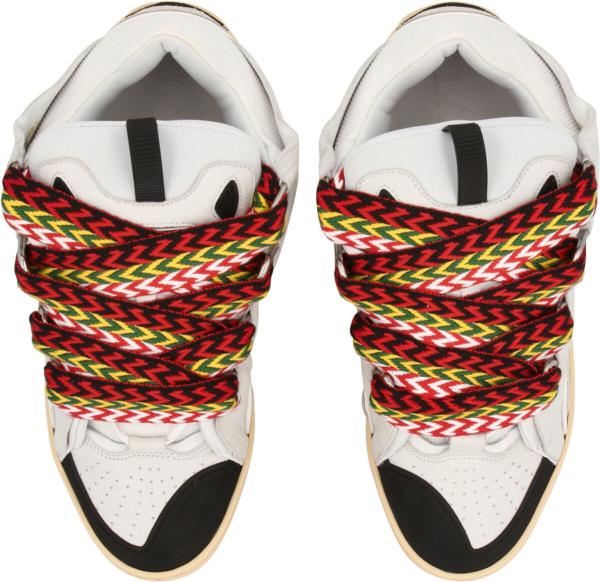 Lanvin White Chunky Skateboarding Sneakers