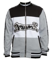 Le Tigre Grey White And Black Track Jacket Worn By 2 Chainz