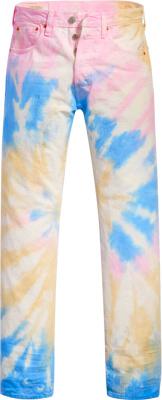 Levis Tie Dye 501 Jeans